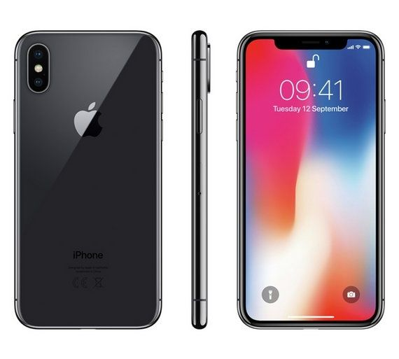 Apple IPhone X, 256GB, Space Gray