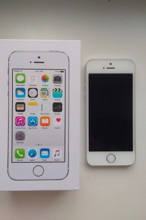 IPhone 5s 16gb Silver Neverlock