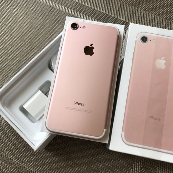 Идеальный Apple iPhone 7 32gb Rose Gold Неверлок