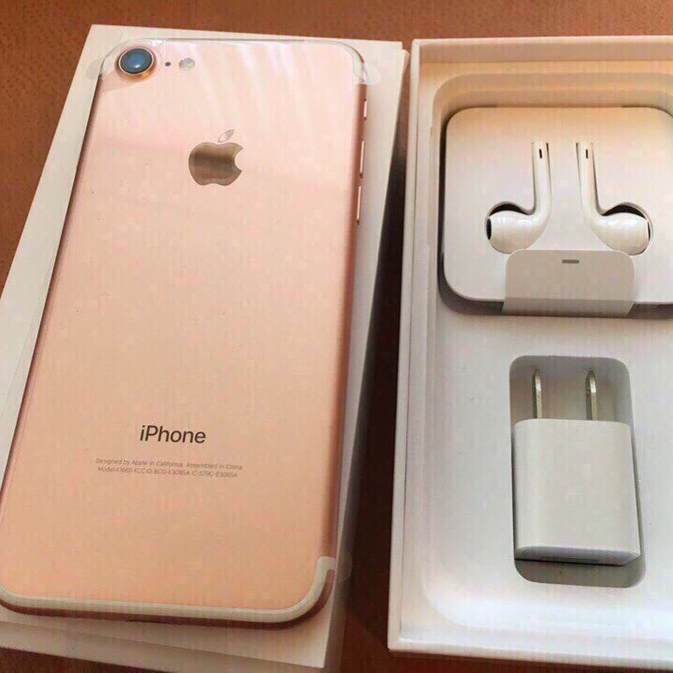 iPhone 7 128gb Rose Gold Neverlock