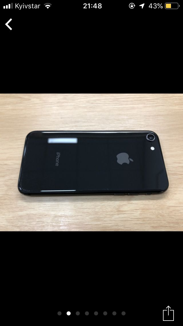 Iphone 8 64gb Neverlock Space Gray