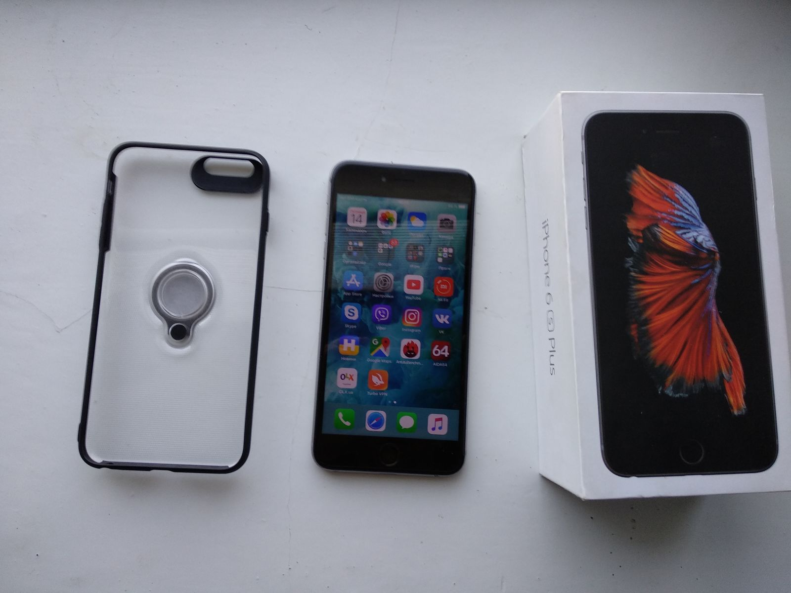 IPhone 6s Plus 64 Gb Neverlock Space Gray