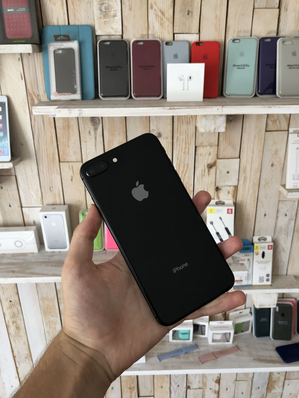 Apple iPhone 8PLUS 64GB Black Neverlock Stan 9.9/10