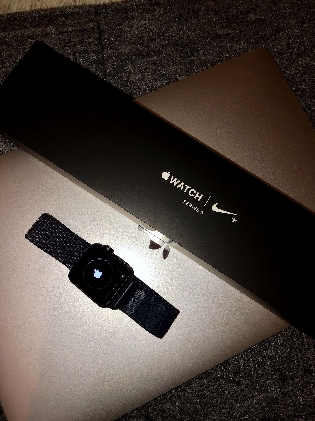 Apple Watch 38 Series 3 Nike+ Space Gray