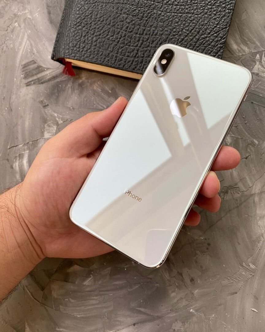 IPhone XS Max 64gb Silver Идеальный