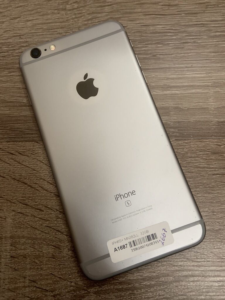 Apple iPhone 6s Plus 32gb Space Gray neverlock оригинал б/у смартфон