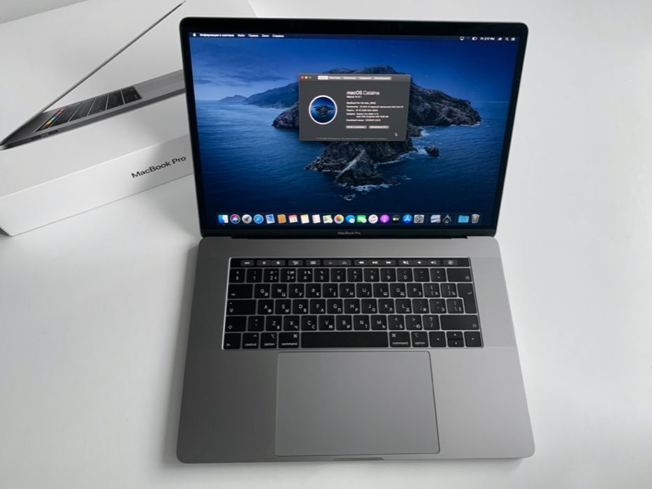 Apple MacBook Pro 15 2018 i9-2.9/16gb/SSD 1 TB/ AMD 560x 4gb